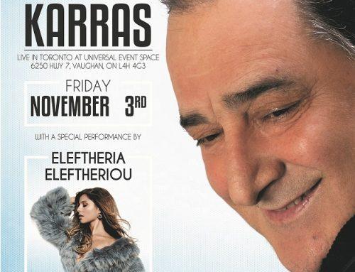 November 3rd Vasilis Karras – Eleftheria Eleftheriou